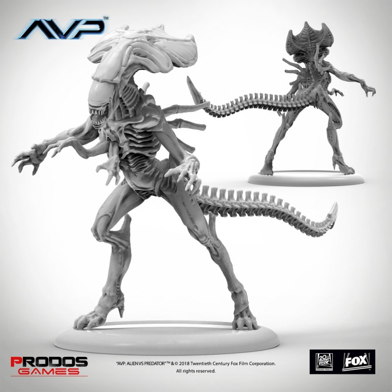 Predalien Queen | Alien vs predator, Alien resurrection ...