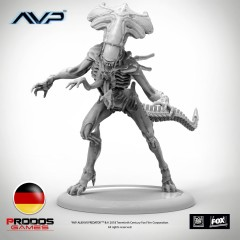 AVP Alien Queen German Language