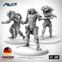 AVP Predators German Language