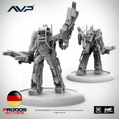 AVP Marine Powerloader German Language