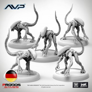 AVP Alien Stalkers German Language