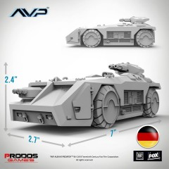 M577 Armoured Personnel Carrier German Language