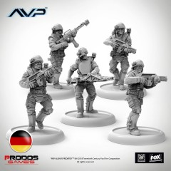 USCM Multipart Marines German Version