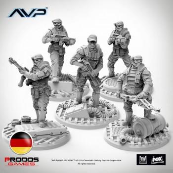 AVP Weyland Yutani Commandos UniCast German Language