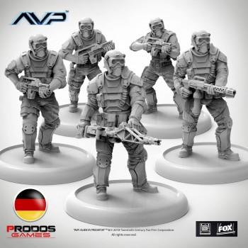 AVP Weyland Yutani Commandos German Language