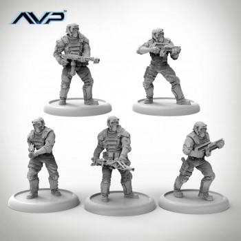 AVP Weyland Yutani Commandos