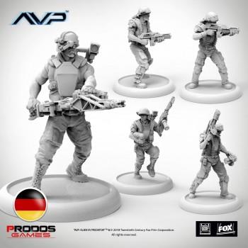 AVP USCM Marines German Language
