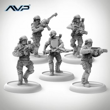 USCM Multipart Marines