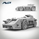 M577 Armoured Personnel Carrier
