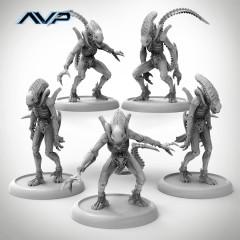 Alternate Alien Warriors