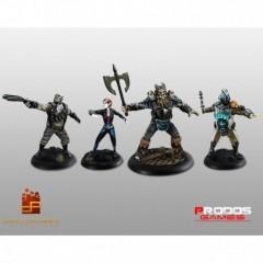 Shadowrun Chronicles Boston Lockdown Miniature Edition