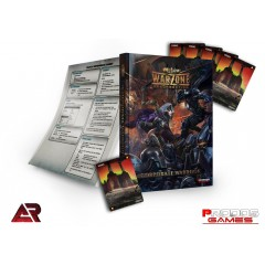 Warzone 2.0 Corporate Warbook with Resource Cards
