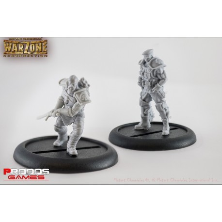 Mutant Chronicles RPG Models Imperial Set