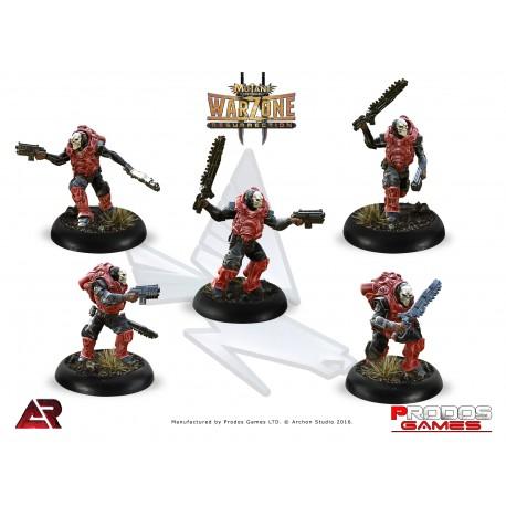 Martian Banshees Linebreakers