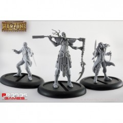 Mutant Chronicles RPG Models Dark Legion Set