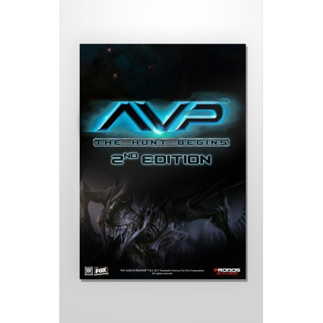 AvP Second Edition Poster