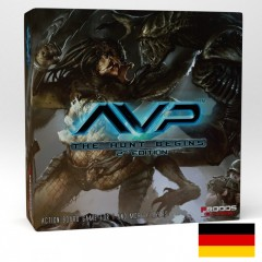 AvP The Hunt Begins Second Edition German Language